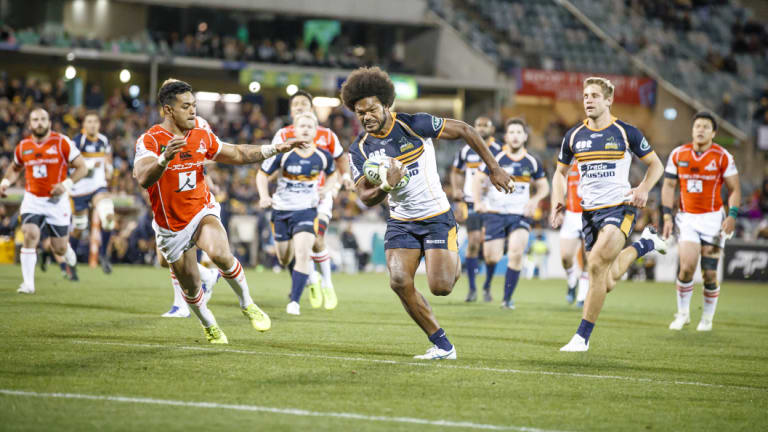 The Brumbies will play five games under Friday night lights in 2019.