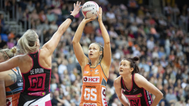 Retiring: Susan Pettitt will call time on her netball career at the end of the season.