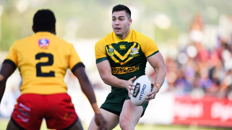 Raiders winger Nick Cotric has set his sights on playing Origin.