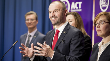 A cycling tourism strategy was part of ACT Chief Minister Andrew Barr's 2018 budget.