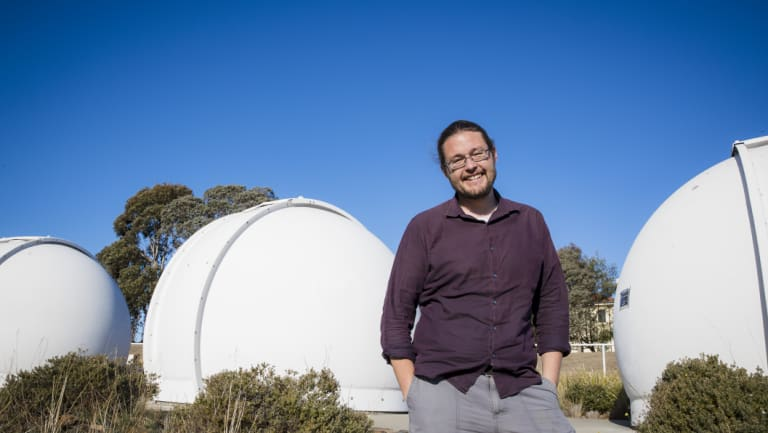 Professor of Astronomy at ANU, Dr. Brad Tucker.
