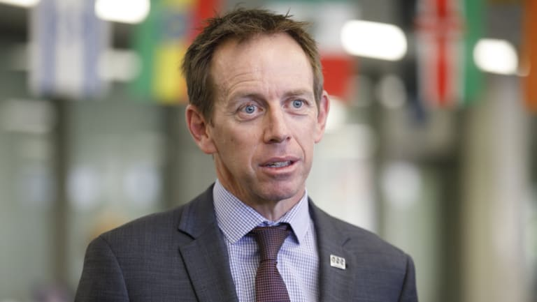 ACT Climate Change Minister Shane Rattenbury, who will on Monday launch the Zero Emissions Vehicle Action Plan
