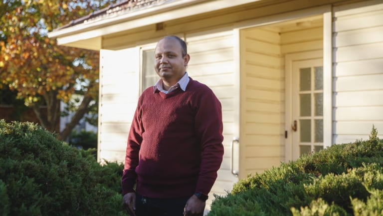 Haribondhu Sarma struggled to find accomodation for his young family when he moved to Canberra as a research student at the ANU.