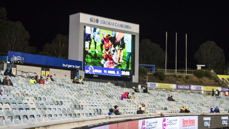 The Brumbies drew their second-worst crowd in club history with just 5283 fans at Canberra Stadium on Saturday.