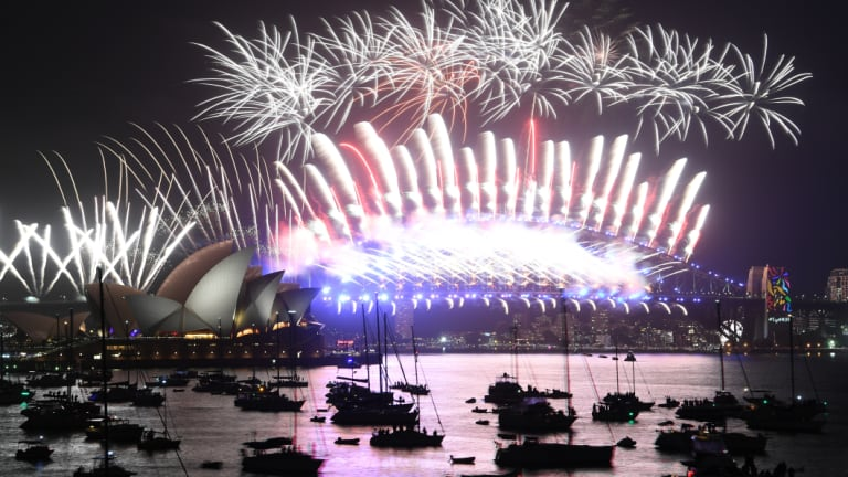 sydneys new years eve fireworks display last
