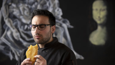Anthony Ferraro owns a takeaway but he's also 'an innovator'.