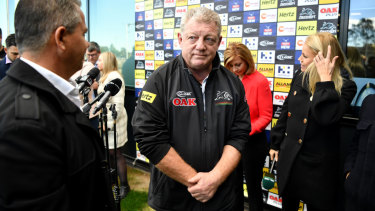 Longer stay: Phil Gould.