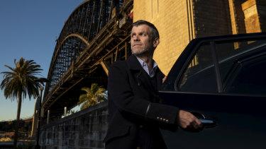 Simon Smith, Managing director of ride-share company Ola.