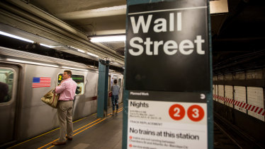 New York's subway system is buckling financially.