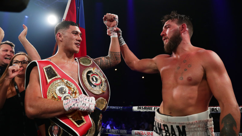 Ritchie honoured as Opetaia moves step closer to world title shot