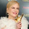 Nicole Kidman wins 'Aussie Oscar' in Hollywood