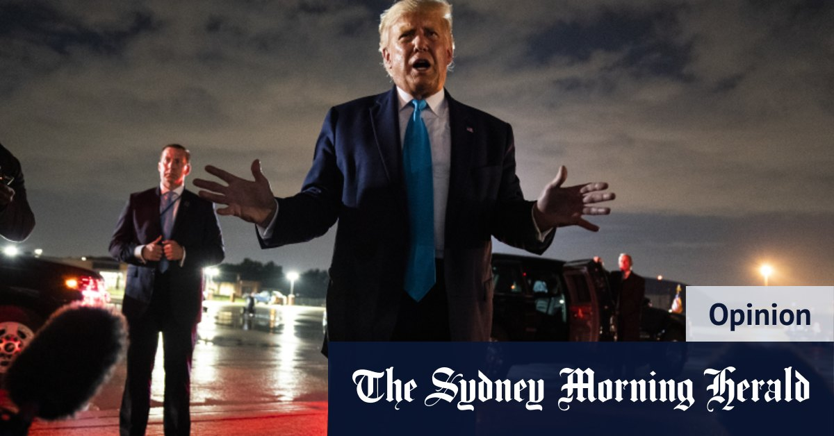 Donald Trump's terrible horrible no good very bad week – Sydney Morning Herald
