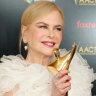 Nicole Kidman wins 'Aussie Oscar' in Hollywood