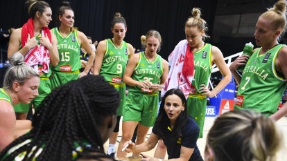 China stun Opals in Asia Cup basketball tournament