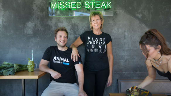 'Don't be afraid': Ex-butcher leads vegan tours of the city
