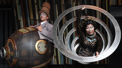 Props to Cirque du Soleil's most intricate 'world of wonders'