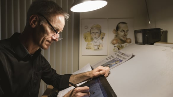 Ten years of David Pope: the struggles of a daily cartoonist