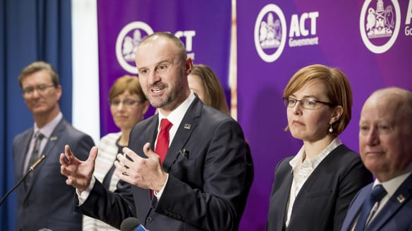 Andrew Barr to appoint extra minister