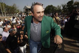 Former Masters winner Angel Cabrera has been arrested in Brazil.