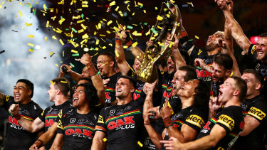 Premiers Penrith were among the most successful teams using the rule changes to their advantage.