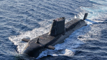 The Australian submarines may be based on Britain's Astute class vessels.