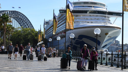 'They never mentioned coronavirus': first sick Ruby Princess passenger