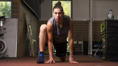 Fighting fit: Marianna Tolo sets her sights on more gold