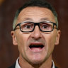 Greens leader side-steps questions over 'arsonists' claim