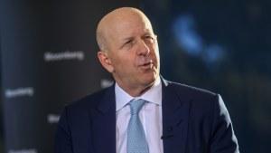 David Solomon, chief executive officer of Goldman Sachs