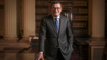 Victorian Premier Daniel Andrews at Parliament House. 14 November 2019