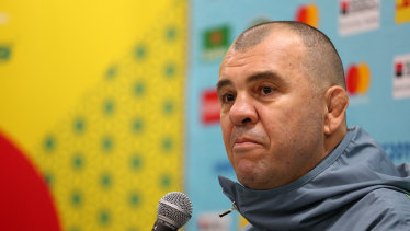 Bookmakers believe Cheika is about to coach his final game in charge of the Wallabies.