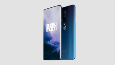 The OnePlus 7 Pro has a truly bezel-free display with no notches or cutouts.
