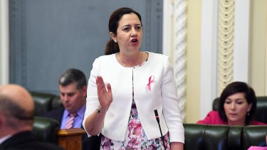 Premier Annastacia Palaszczuk says her ministers will not attend events at the Tattersall's Club while it continues to not allow women to hold membership.