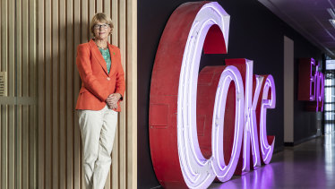 Coca-Cola Amatil managing director Alison Watkins is a small piece in the global franchise chess game.