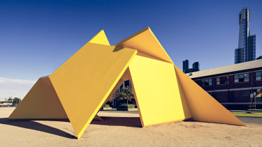 Vault started life as a newly commissioned sculpture for the City Square in 1980.