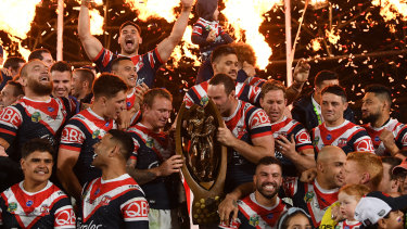 The Roosters are out to win back-to-back premierships.