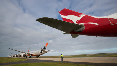 Qantas and Perth Airport have resolved their issues.