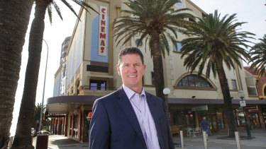 "Hoyts chief executive Damian Keogh is hoping the industry will be ""pretty close to normal"" by October to December."