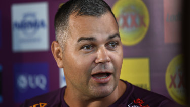 Broncos coach Anthony Seibold ramped up, then hosed down, his side's feud with Souths at Red Hill on Thursday.