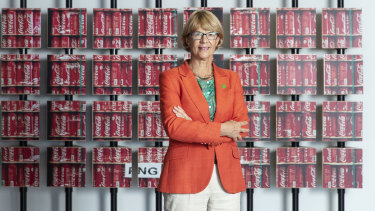 Coca-Cola Amatil boss Alison Watkins.
