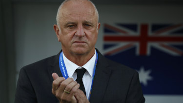 I know everything: Graham Arnold says the Socceroos are meticulous with their opposition analysis.