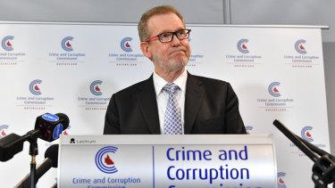 CCC chairman Alan MacSporran.
