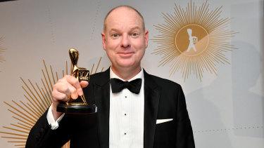 2019 Gold Logie winner Tom Gleeson.