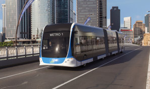 Brisbane Metro's electric mega-buses will use fast-charging technology from ABB.
