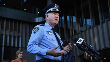NSW Police Commissioner Mick Fuller.