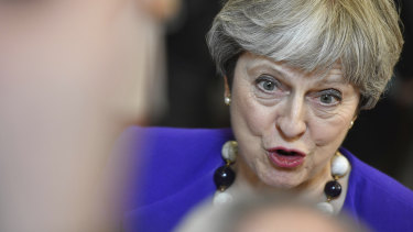 Theresa May's speech had kickstarted a British diplomatic effort that was nothing short of furious.