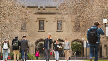 The University of Melbourne has unveiled major changes to its Melbourne model