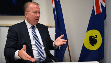 US political campaign strategist Ron Nehring is in Perth to warn about foreign interference in Australia's upcoming federal election.