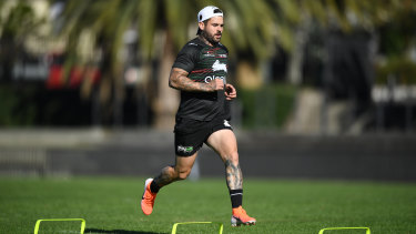 South Sydney's Adam Reynolds was initially ruled out indefinitely.