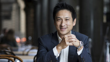 Labor Senate candidate and former Australian republican movement leader Jason Yat-Sen Li.